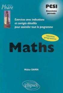 Mathématiques PCSI - Exercices corrigés - 2e période