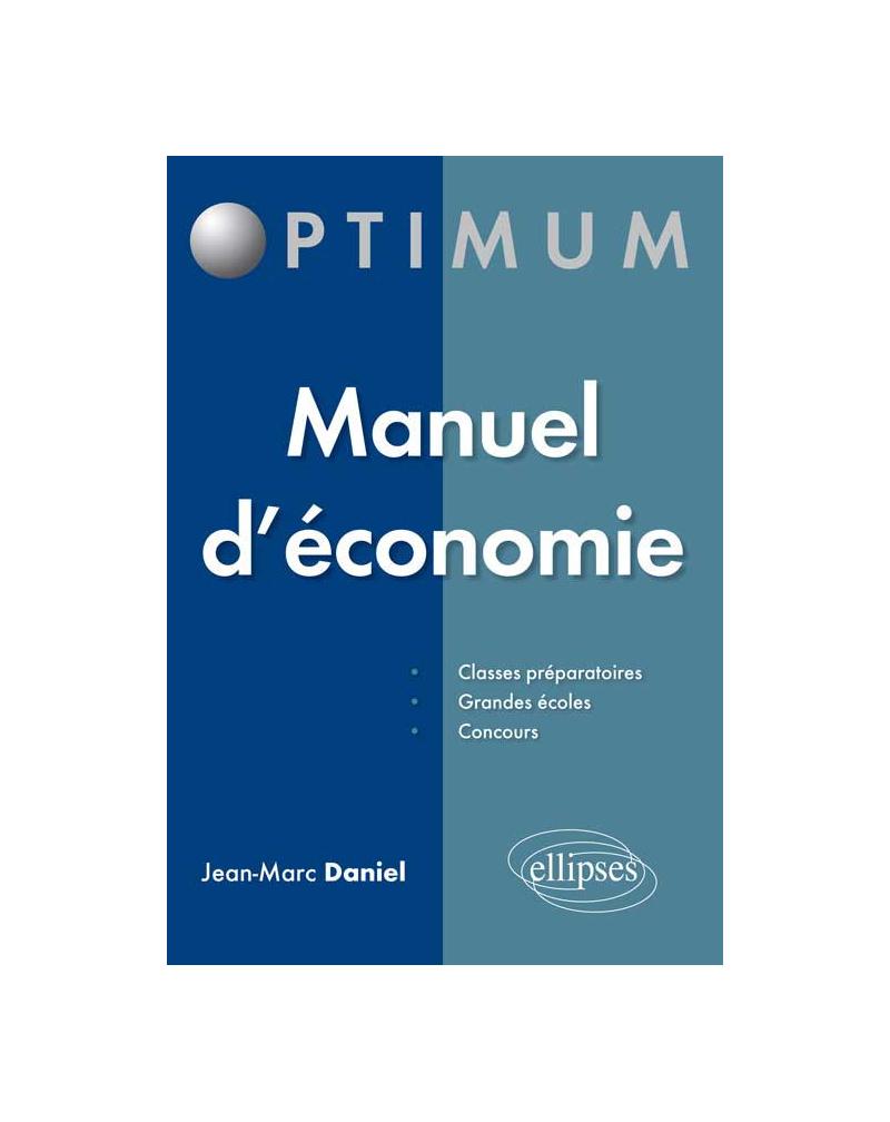 Manuel d'économie
