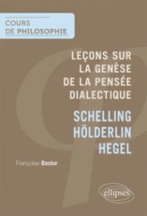 Leçons sur la Genèse de la pensée dialectique, Schelling Hölderlin, Hegel