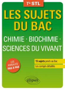 Chimie-Biochimie-Sciences du vivant - Terminale STL