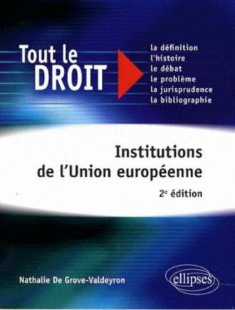 Institutions de l'Union européenne - 2e édition