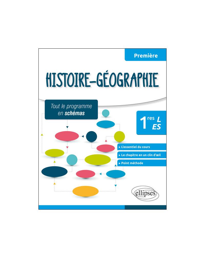 Histoire-Géographie - Premières L et ES - tout le programme en schémas
