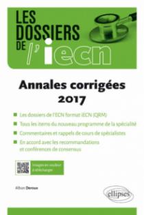 Les dossiers de l'IECN - annales 2017 corrigées