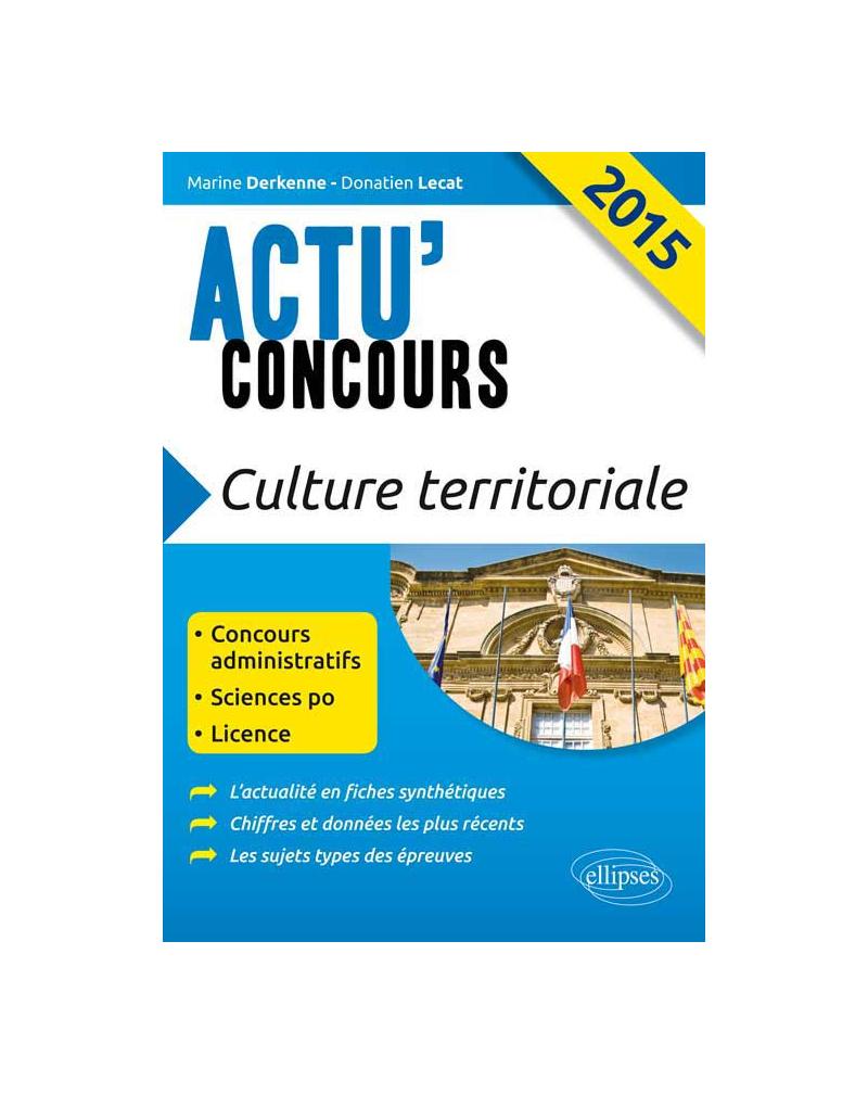 Culture territoriale - 2015