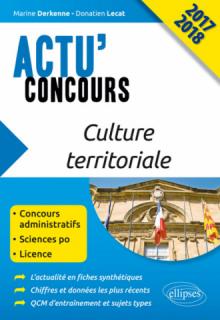 Culture territoriale - concours 2017-2018