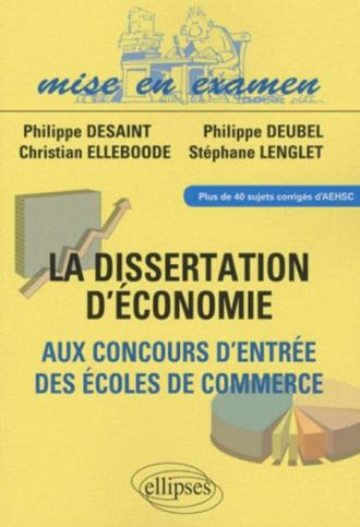 Dissertation d economie d entreprise