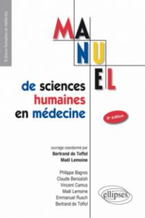 UE7 - Manuel de sciences humaines en médecine - 2e édition