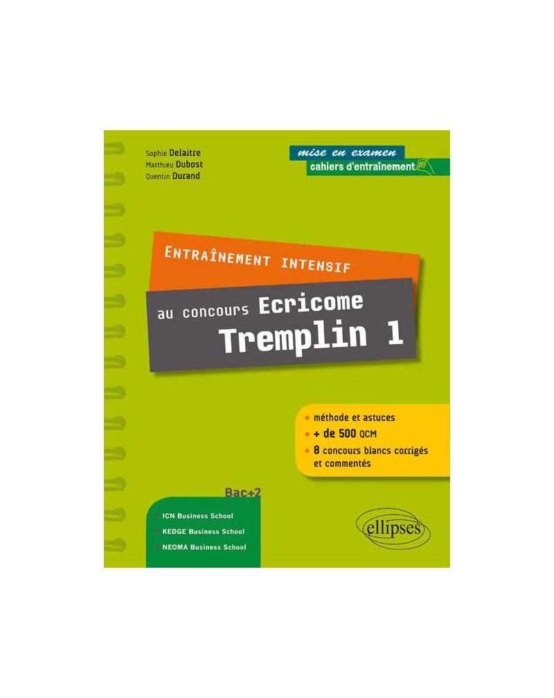 Entraînement intensif au concours Ecricome Tremplin 1