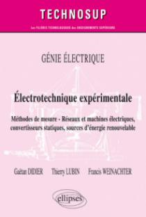GÉNIE ÉLECTRIQUE - Électrotechnique expérimentale - Méthodes de mesure - Réseaux et machines électriques, convertisseurs statiques, sources d'énergie renouvelable – Niveau B