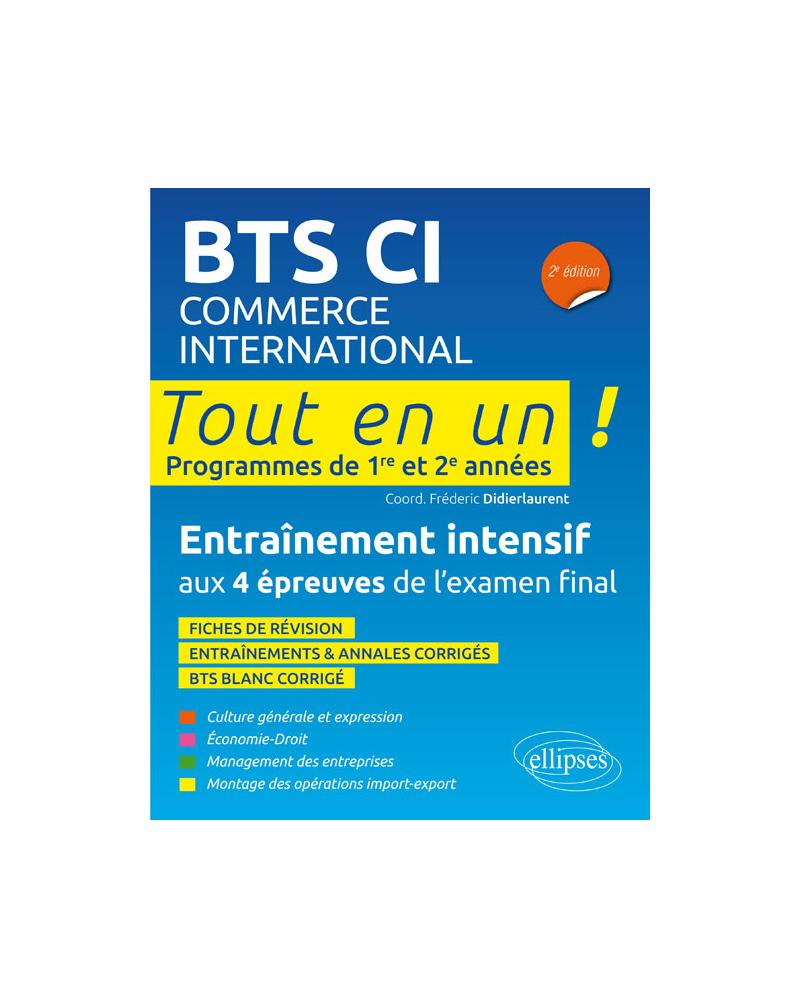 BTS Commerce international, 2e édition