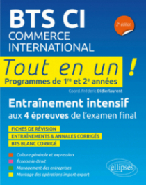 BTS Commerce international, 2e édition
