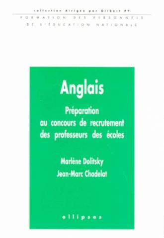 Anglais - Préparation au concours de recrutement des professeurs des écoles
