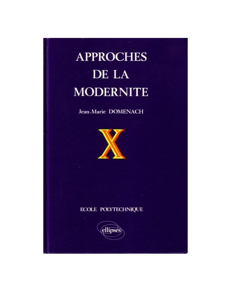 Approches de la modernité (édition reliée)