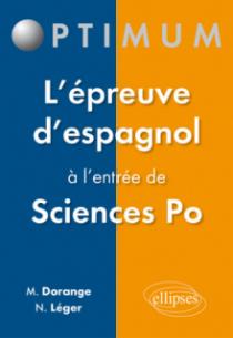 L'épreuve d'espagnol à l'entrée de Sciences Po