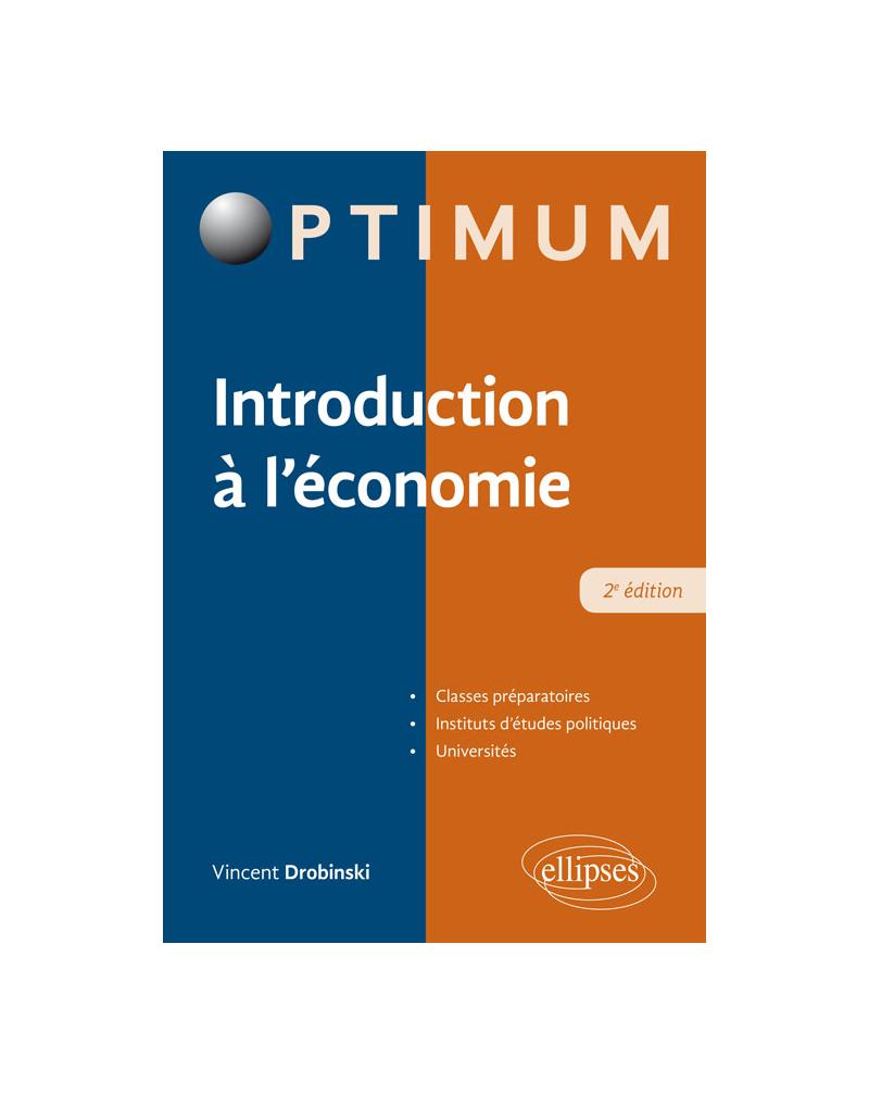 Introduction à l'économie - 2e édition