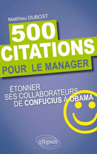 500 citations pour le manager