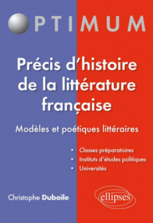 Précis d'histoire de la littérature française