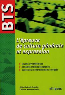 BTS - L'épreuve de culture générale et expression