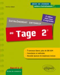 Entraînement intensif au Tage 2® - 2e édition mise à jour et augmentée