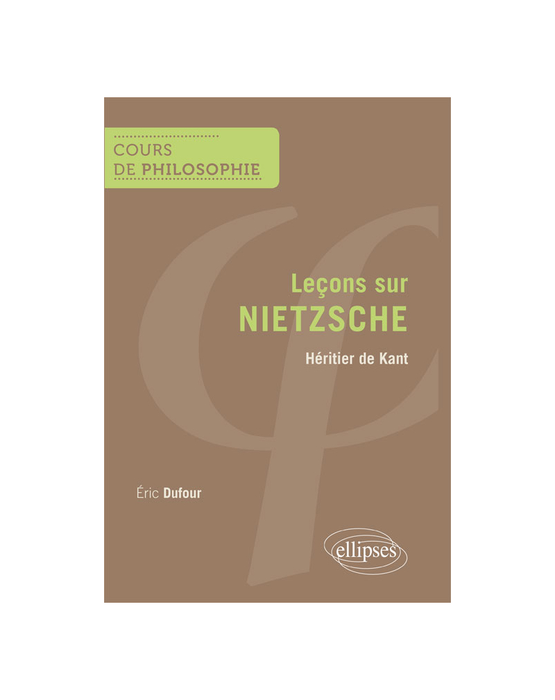 Nietzsche. Héritier de Kant
