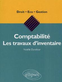Comptabilité - Les travaux d'inventaire