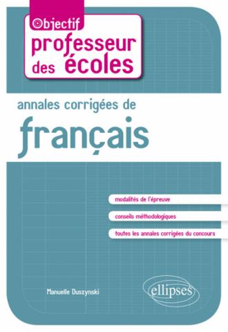 Annales corrigées de français