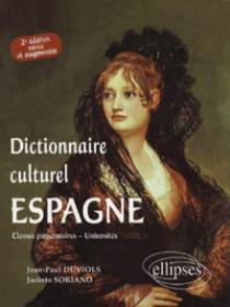 Dictionnaire culturel Espagne - 2e édition