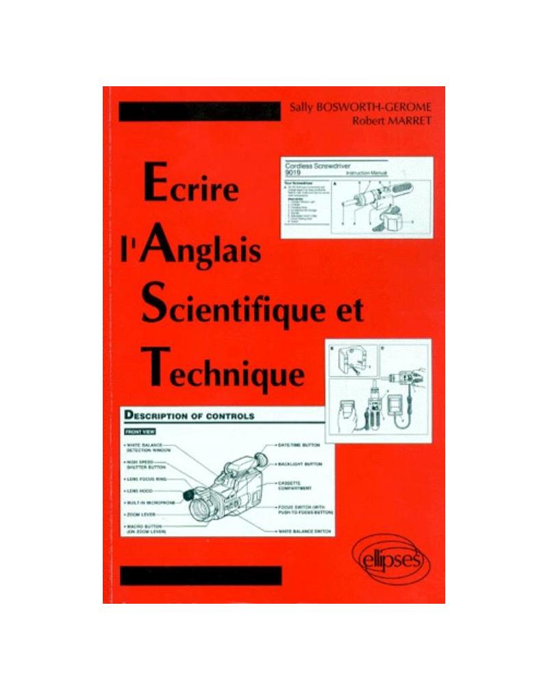 Écrire l'Anglais Scientifique et Technique (E.A.S.T.)