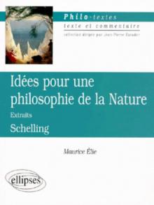 Schelling, Idées pour une philosophie de la nature