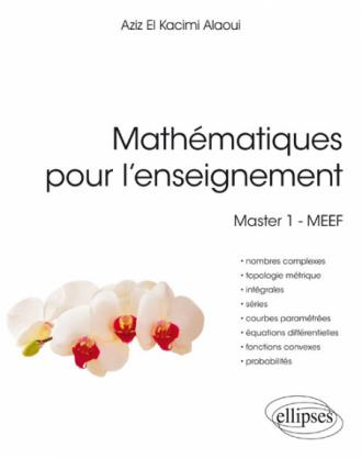 Mathématiques Pour L Enseignement Master 1 Meef
