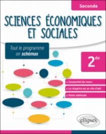 Sciences économiques et sociales - Seconde - tout le programme en schémas