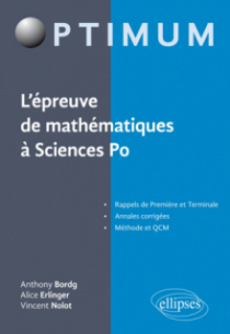L'épreuve de mathématiques à Sciences Po