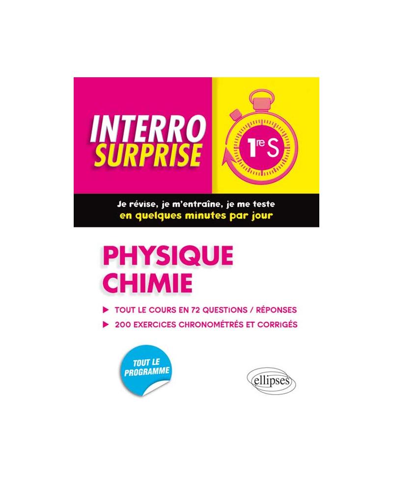 Physique chimie - Première S