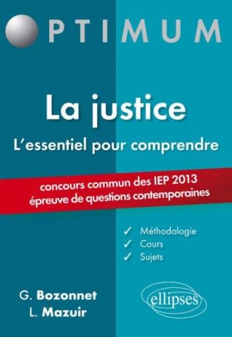 L'essentiel pour comprendre la justice