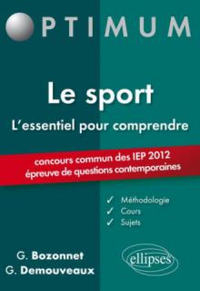 L'essentiel pour comprendre le sport (IEP 2012)