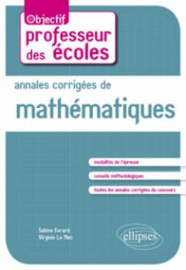 Annales corrigées de mathématiques