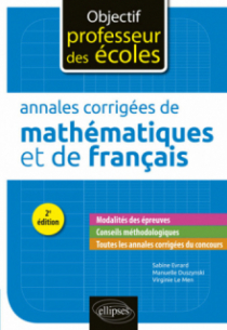 Annales corrigées de mathématiques et de français - 2e édition