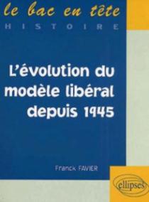 L'évolution du monde libéral depuis 1945