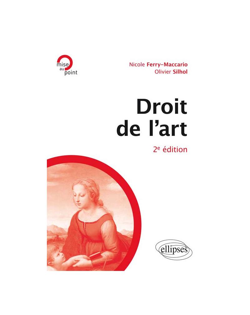 Droit de l'art, 2e édition