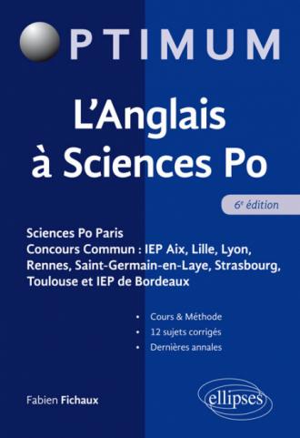 L'Anglais à Sciences Po - 6e édition