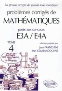 Mathématiques prépas E3A-E4A - 2005-2006 - Tome 4