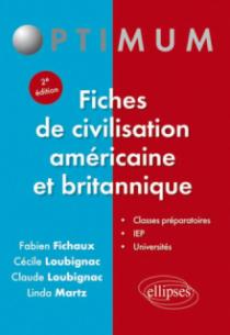 Fiches de civilisation américaine et britannique - 2e édition