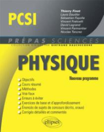 Physique PCSI - conforme au nouveau programme 2013