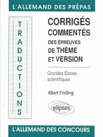 Traductions (thème/version) écoles scientifiques
