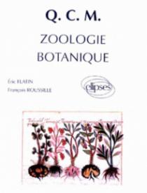QCM 1re année de Pharmacie, Zoologie et botanique