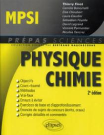 Physique-Chimie MPSI - 2e édition