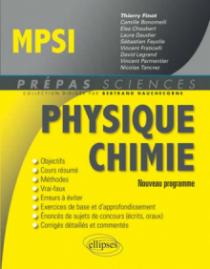 Physique-Chimie MPSI - conforme au nouveau programme 2013