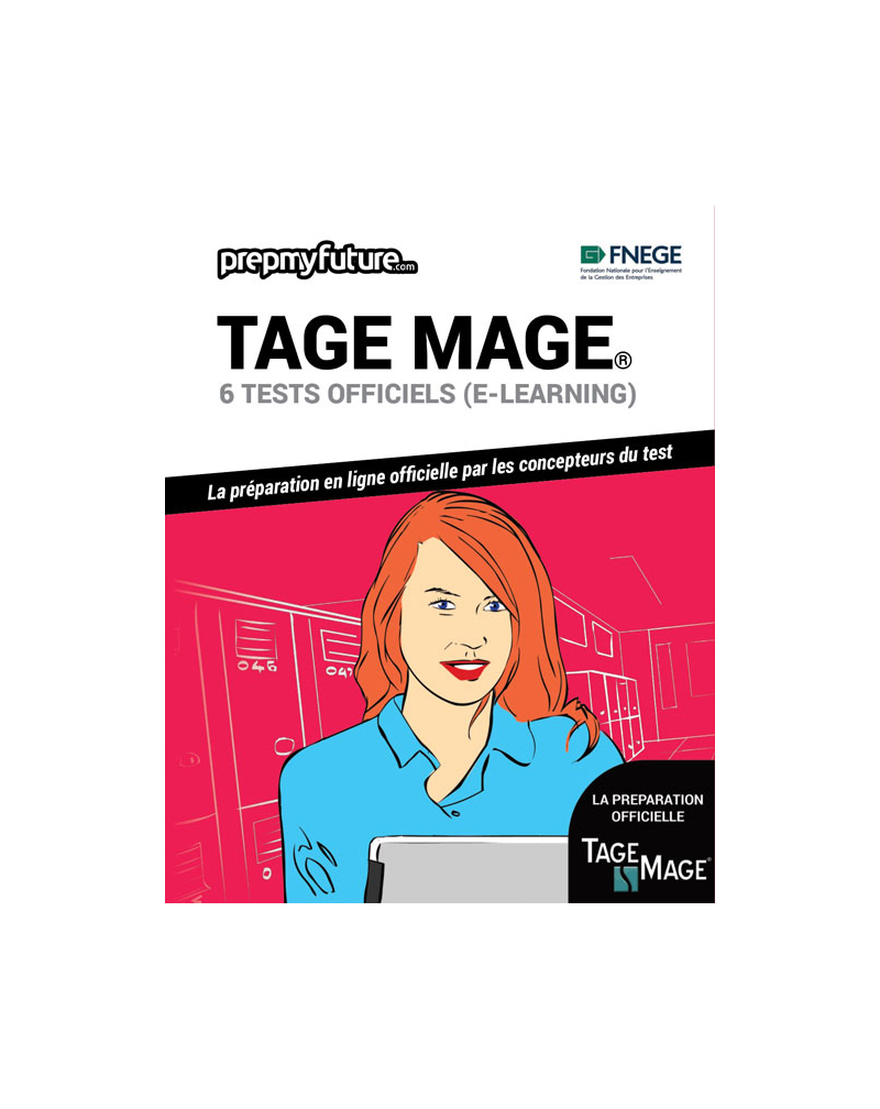 TAGE MAGE®. 6 tests officiels (e-learning)