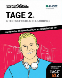 TAGE 2®. 4 tests officiels (e-learning)