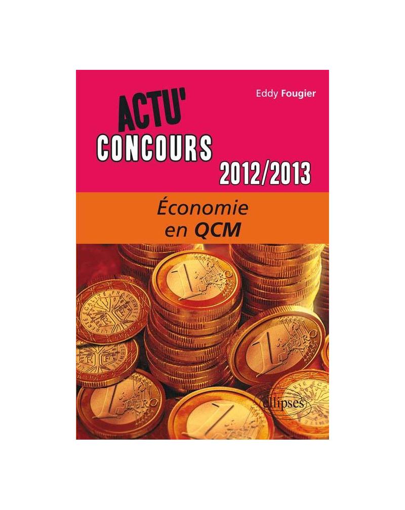 Economie - 2012-2013 - en QCM